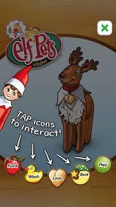 on shelf reindeer pets reindeer app pets elves and shelves