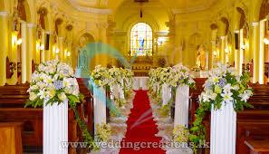 Church Decorations For Wedding Churh Flower Decoration In Sri Lanka