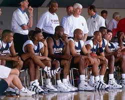 Shaq Bench Kicks On Court Classic The 1996 Usa Olympic Team Nice Kicks