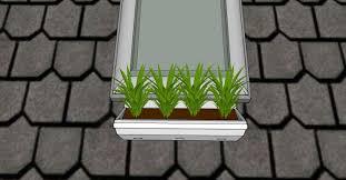 window herb gardens pitch planter u2013 velux window herb garden u2013 o c d u003eave