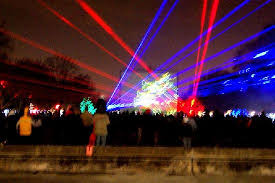 Lazer Light The Very Cool Lazer Light Show Picture Of Brookfield Zoo