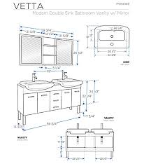 Superb Vanity Cabinet Height 2 Standard Height Bathroom Vanity