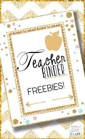 Free Printable Cover Sheet by Best 25 Teacher Binder Free Ideas On Pinterest Teacher Lesson