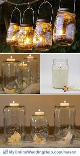 Lanterns For Wedding Centerpieces by 381 Best Mason Jar Wedding Images On Pinterest Farm Wedding
