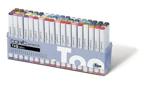 42 off on copic marker 72 piece sketch groupon goods