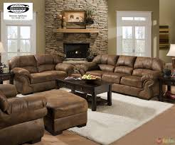 Brown Living Room Furniture Sets Buchannan Microfiber 3 Piece Living Room Set This Eye Catching