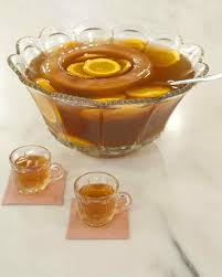 Decorative Ice Rings For Punch Holiday Punch Recipes Martha Stewart