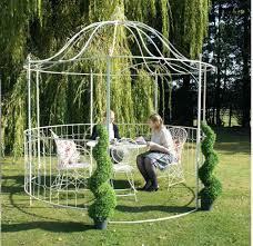 willow gazebo outdoor metal gazebo buy garden frame etsustore com
