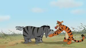 tigger and eeyore the mini adventures of winnie the pooh mini