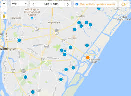 Map Of Wilmington Nc Hanover Reserve New Homes For Sale