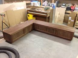 Diy L Shaped Desk by L Shaped Bench With Storage Seating Kitchen Kitchen L Shaped