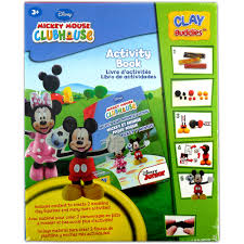 mickey mouse clubhouse clay buddies starter pack walmart com