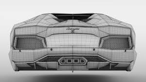 lamborghini aventador flying 2017 3d model cgstudio