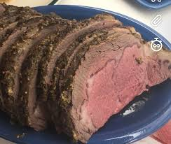 oc mustard and herb prime rib for thanksgiving dinner perfectly