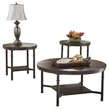 Occasional Table And Chairs Amazon Com Ashley Furniture Signature Design Sandling