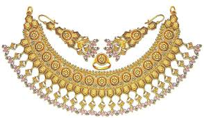 gold set in pakistan gold nackless jewellery