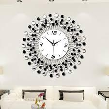 wall clock modern modern classic living room diamond decorative wall clock