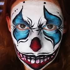 Halloween Makeup Clown Faces by How To Face Paint A Scary Clown U2013 Facepaint Com