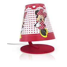 717643116 philips disney table lamp 71764 31 16 minnie mouse red