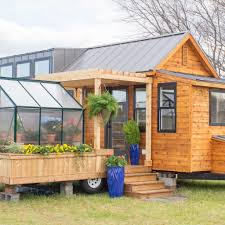 tiny house on wheels may look small on the outside but it is