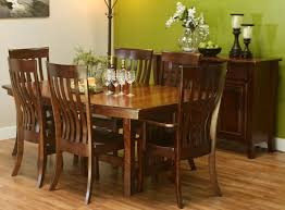 Maple Table And Chairs Dining Sets Amish Furniture In Shipshewana Indiana
