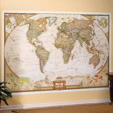 map mural executive wall map mural national geographic store
