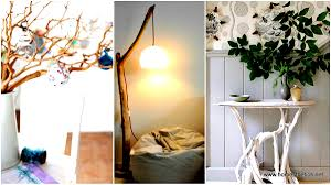 Floor Lamp Tree Branches 20 Insanely Creative Diy Branches Crafts Meant To Sensibilize Your