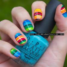 serape nails for cinco de mayo nailed it pinterest nail art
