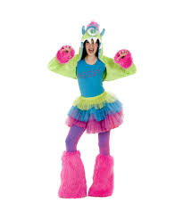 pink monster halloween costume uggsy monster tween halloween costume girls costumes