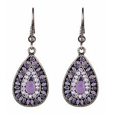 purple drop earrings best purple drop earrings photos 2017 blue maize
