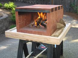 backyard pizza oven kit design and ideas