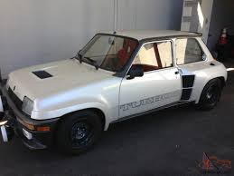 renault alliance 1986 renault r5 turbo 2 factory modified absolutely perfect no reserve