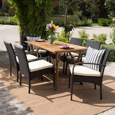 7 Pc Patio Dining Set Outdoor Dining Sets Shop The Best Patio Furniture Deals For Nov