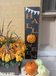 pick your pumpkin challenge light up halloween wood sign
