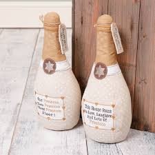 Pictures Of Door Stops by Personalised Prosecco Christmas Gift Door Stop By Dibor