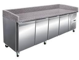 plan de travail cuisine professionnelle stock epuise meuble à pizza 4 portes plan de travail en granit