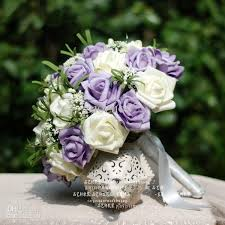 wholesale wedding flowers purple and white wedding flowers wholesale wedding bouquet buy