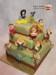 snow white and seven dwarfs cake cakecentral com