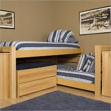 3 Way Bunk Bed Bedding Good Looking L Shaped Bunk Beds 3way Bedjpg L Shaped