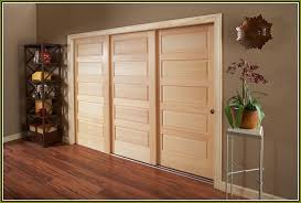 Sliding Wooden Closet Doors Closet Doors Sliding Wood Home Romances