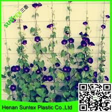 heavy duty long lasting flexible trellis netting vining flowers