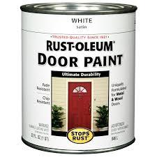 shop rust oleum stops rust white gloss enamel interior exterior
