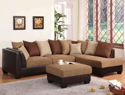 Leather And Suede Sectional Sofa Sofa Grey Sectional Leather Sectional With Chaise Suede