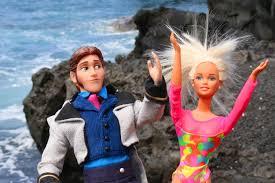 disneycartoys frozen dolls elsa anna kids join barbie