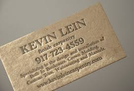 Crown Business Cards Letterpress Business Cards Brown Stained Kraft 2 Mm Thick