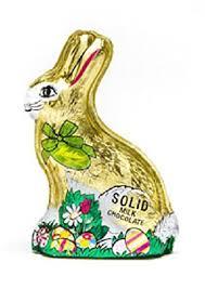 chocolate rabbits madelaine chocolate easter foiled chocolate rabbit
