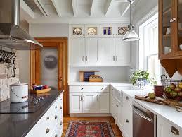 wine storage eat in kitchen exposed beams isllighting wood ceiling