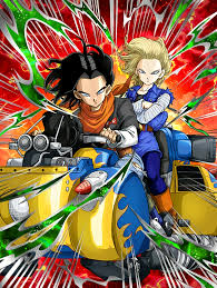 android 17 and 18 agile dash androids 17 18 z dokkan battle wikia