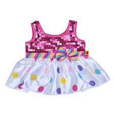 clothes for build a polka dot sequin dress build a workshop us build a
