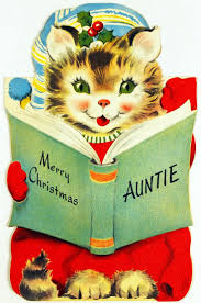437 best christmas cats images on pinterest vintage christmas